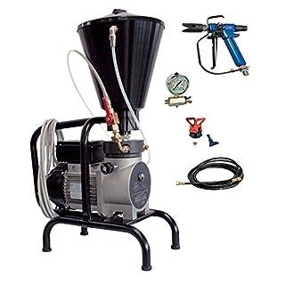 Asturo 073003K Pumpe Hohe Druck Elektrische A Membran K300Roundup Feste mit Kit-Lackierung für Sprühen Produkte Flüssigkeiten, grau/schwarz
