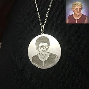 Andenken-Foto-Halskette