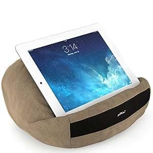 padRelax Oreiller souple offre un confort d'utilisation prolongée de votre iPad, lecteur d'ebook, et tablette (marone)
