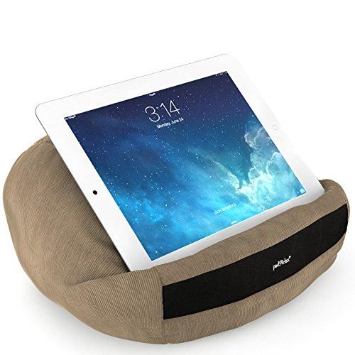 padRelax Casual Camel iPad Kissen bis 10.5 Zoll, Made in Germany, für Bett, Sofa, Tisch und...