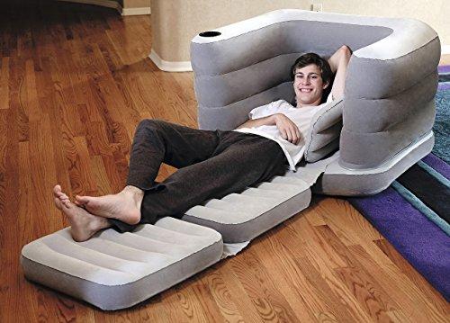 Bestway 75065 - Sofá Cama Hinchable Multi Max II Air Chair