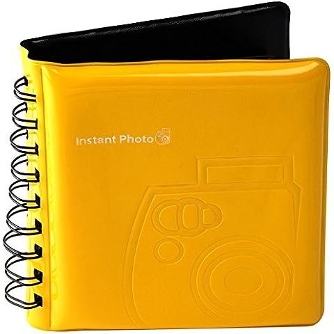 Fujifilm - Album fotografico di alta qualità Instax 8 1 giallo