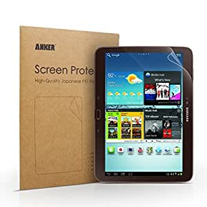 Anker? Screen Protector for Samsung Galaxy Tab 3 10.1-Inch - Xtreme Scratch Defender Crystal-Clear High-Response Premium with Lifetime Warranty