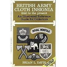 British Army Cloth Insignia