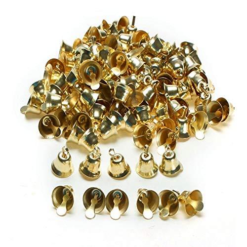 all Gold Glöckchen Glocken Christbaumschmuck Handgemachten Schmuck Anhänger Windspiele ()