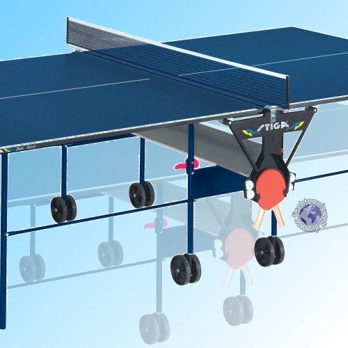 STIGA Tischtennisplatte Basic Roller Indoor