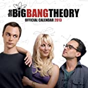 Big Bang Theory Calendar 2013