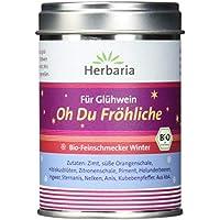 """Herbaria""""Oh Du Fröhliche"""" Gewürz für Glühwein oder Punsch, 1er Pack (1 x 70 g Dose) - Bio"""