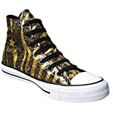 Converse Chuck Taylor All Star Femme Animal Print - Zapatillas para mujer, color dorado,...