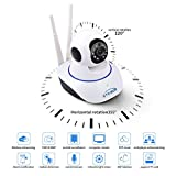#1: TR-Wireless HD IP Wifi CCTV indoor Security Camera,(White Color)