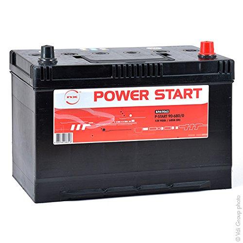 NX - Batteria Auto P-Start 90-680/0 12V 90Ah +D