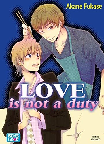 Love is not duty - Livre (Manga) - Yaoi par Akane Fukase