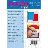 Burda - Papier Carbone bleu et Rouge - 83x57cM