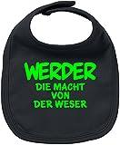 EZYshirt® Werder die Macht von der Weser Baby Lätzchen Halstuch