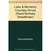 Lake & McHenry Counties Illinois (Rand McNally Streetfinder)