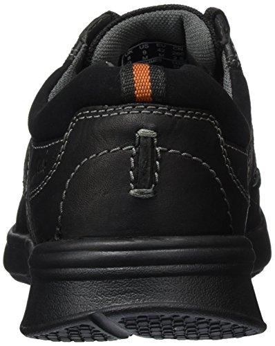 Clarks Cotrell Plain, Chaussures Homme Noir (Black Oily)