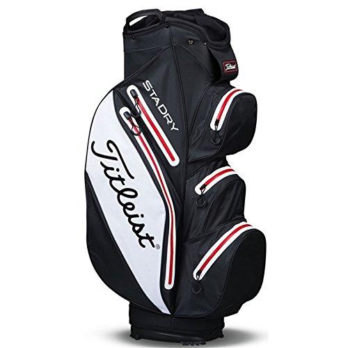 Titleist stadry Sac de golf Noir/Blanc/Rouge