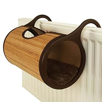 Rosewood Bamboo Cat Radiator Bed