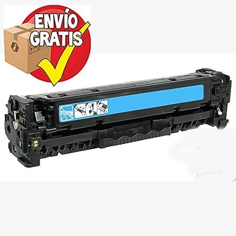 GOLDAN REMANUFACTURADO HP TONER CE411A (Nº 305A) Cyan Reciclado 2.600 Paginas para LaserJet Pro M540 Series / M470 Series ENTREGA GRATIS 24/48h