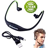 Delhitraderss Gionee Phone's Compatible BS19C Wireless Bluetooth Waterproof Attractive Headphone With Built-in Microphone