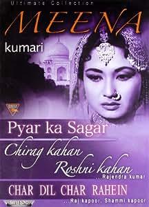 Ultimate Collection (Meena Kumari) (Set of 3 DVDs- Pyar Ka Sagar/Chirag Kahan Roshani Kahan/Char Dil Char Rahein)