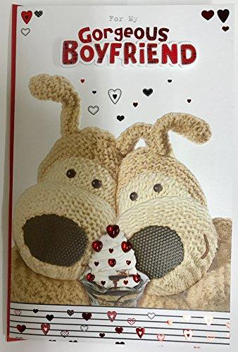Unbekannt Boyfriend–Liebenswürdig, Boofle Paar mit Luxus Valentine 's Day neuen Karte