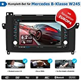 2DIN Autoradio CREATONE V-336DG für Mercedes B-Klasse W245 (ab 05/2006 - 06/2011) mit Audiosystem 5 und 20 mit GPS Navigation (Europa), Bluetooth, Touchscreen, DVD-Player