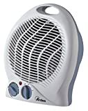 Ardes AR451C Tepo Color Termoventilatore Oscillante, 2 Potenze con Termostato e LED On/off, 2000 W, Bianco e Baleno, 240 V