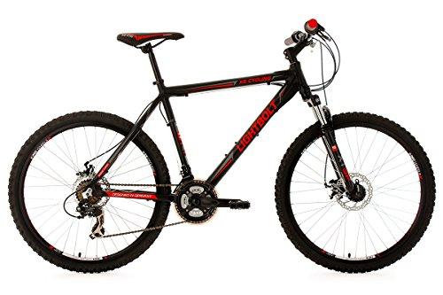 KS CYCLING LIGHTBOLT 150M   BICICLETA DE MONTAÑA ENDURO  COLOR NEGRO / ROJO  TALLA L (173 182 CM)  RUEDAS 26  CUADRO 51 CM