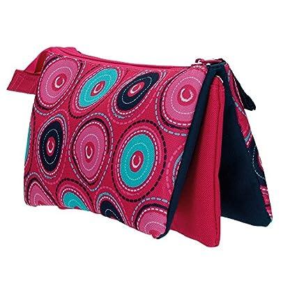 Movom Circles Neceser de Viaje, 1.32 litros, Color Rosa