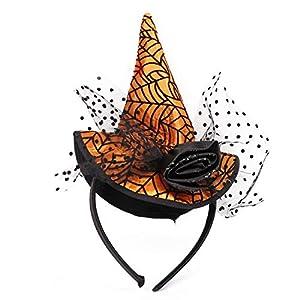 Diadema de Halloween Bruja Globo