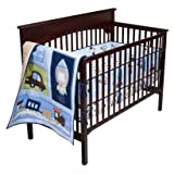 Circo Baby Here, There and Everywhere 3pc Baby Boy Crib Set