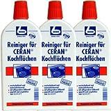 Dr. Becher Reiniger für CERAN Kochflächen, 3er Set (3 x 500ml Flasche)