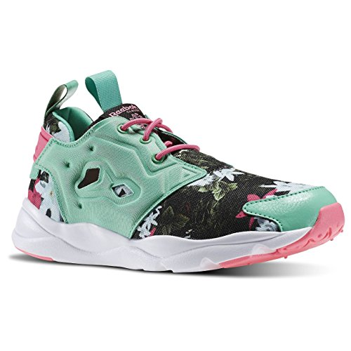 Reebok Furylite Graphic, Chaussures de Sport Fille Multicolore