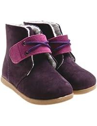 Little Blue Lamb Botas Forradas rosa púrpura
