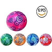 12 Pcs Juguete De Pelota De Playa De Balon 22CM (Círculos)