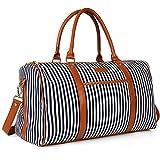 Frauen Weekender Tasche, ZYSY Canvas Große Kapazität Travel Holdalls Weekend Reisetasche Travel...
