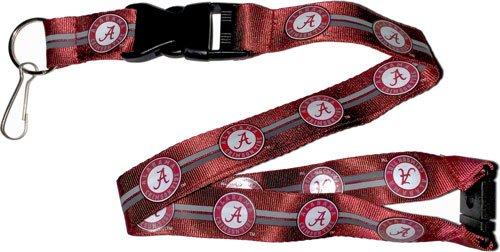 aminco NCAA Alabama Crimson Tide Team Farbe Lanyard, 56cm, rot - Alabama Crimson Tide Lanyard