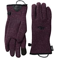 OUTDOOR RESEARCH WOMENS FLURRY SENSOR GLOVES PINOT (LARGE)