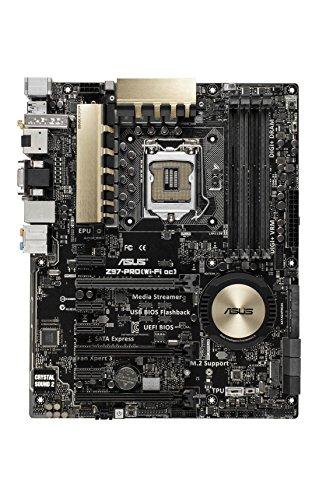 Asus Z97-PRO Mainboard (ATX, Intel Z97, U3, SATA, 4x DDR3) (Asus Z97 A Mainboard)