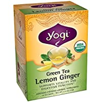 Yogi Teas Lemon Ginger Green Tea, 16 Count (Pack of 6) by Yogi Teas preisvergleich bei billige-tabletten.eu