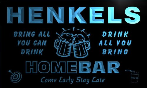 q19770-b-henkels-family-name-home-bar-beer-mug-cheers-neon-light-sign