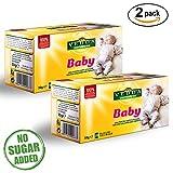 Vedda, Baby Tee | Fenchel tee für Babys (40 Teetassen) | Tee für Stillende Mütter | Anregende Muttermilch | Tee für Kinder | Kräutertee für Kleinkinder | Tee hilft Koliken | 40 Teebeutel, Gesamt 60g
