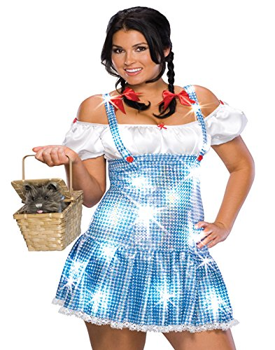 Dorothy - Der Zauberer von Oz - Geheimnis Wishes - Adult Kostüm (Der Zauberer Von Oz Kostüm Frauen)