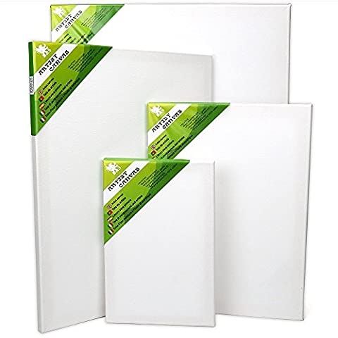H & S® Set von 4Künstler, blanko, Leinwand Rahmen Keilrahmen