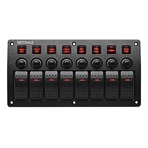Marine 6 Gang Switch Panel - Buyitmarketplace.de