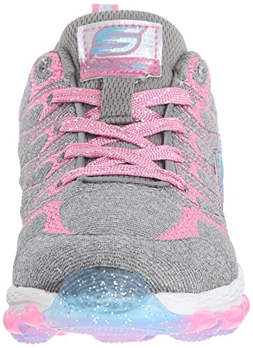 Skechers Mädchen Skech Air Ultra Double Dance Low-Top Grau (Gypk)