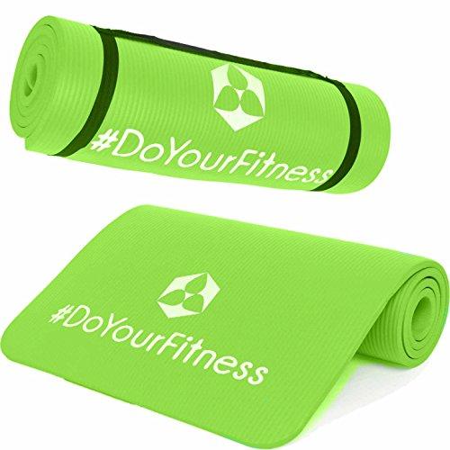 Fitnessmatte »Amisha« / dicke und weiche Sportmatte, ideal für Pilates, Gymnastik und Yoga, Maße: 183 x 61 x 1,2cm / hellgrün