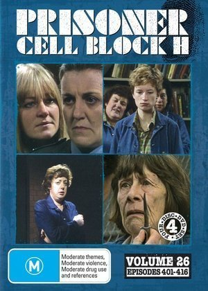 Prisoner: Cell Block H - Vol. 26 (Ep. 401-416) - 4-DVD Set ( Caged Women ) ( Women Behind Bars ) by Alan Hopgood (Woman-dvd Caged)