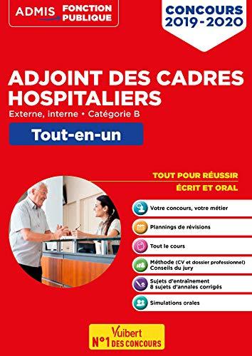 Concours Adjoint des cadres hospitaliers - Tout-en-un - Catégorie B - Concours 2019-2020 par Gueguen Mandi